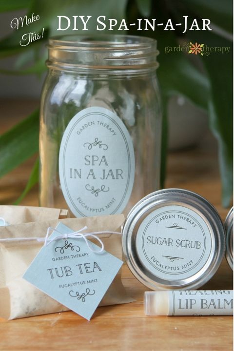 Give the Gift of Pampering with this Spa in a Jar