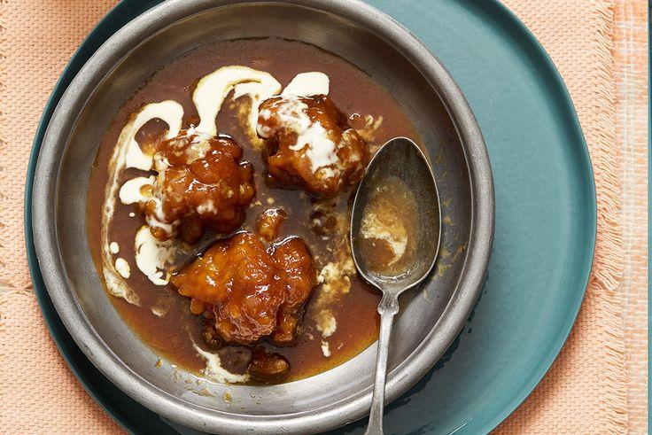 Salted Caramel Dumplings