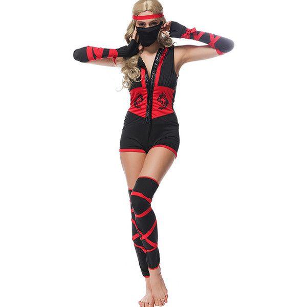 Sexy ninja halloween costume