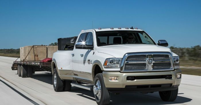 2017 Dodge Ram 3500 is a top choice for a heavy truck thanks to its refined, well-equipped interior and astonishing drag and drag capabilities. The new 2017 Ram 3500 heavy pickup available in three cab styles: two-door regular, four-door crew cab and four-door Mega taxi.