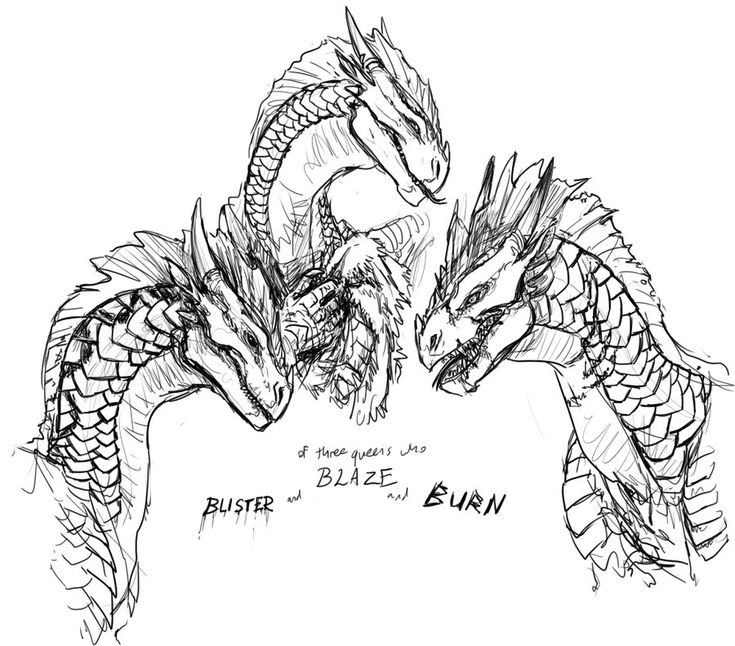 348 best coloring pages dragons how to train your for Wings of fire coloring page
