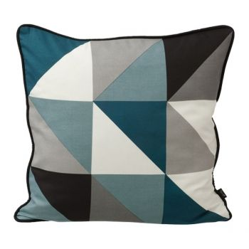 Remix cushion, blue