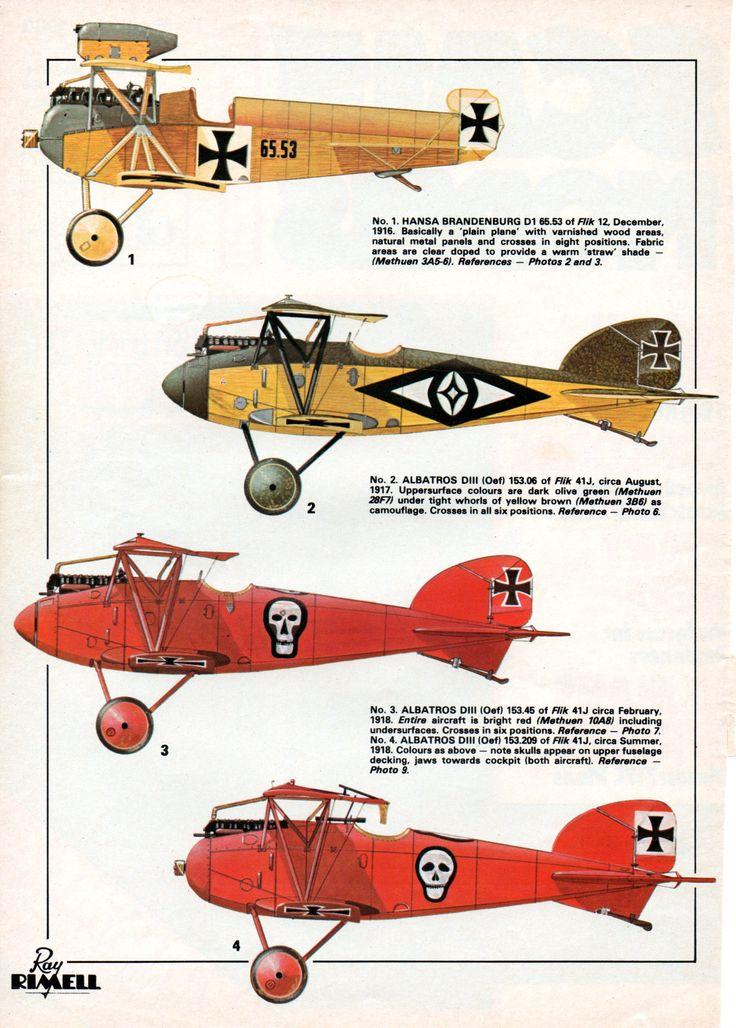 Austria-Hungary Aircraft of the great war