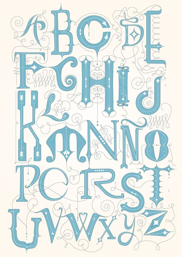 Hand drawn type