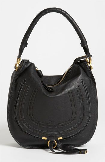 Chloé 'Marcie - Medium' Leather Hobo available at #Nordstrom