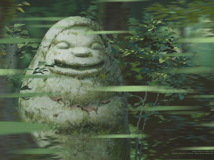 Production still from Spirited Away.