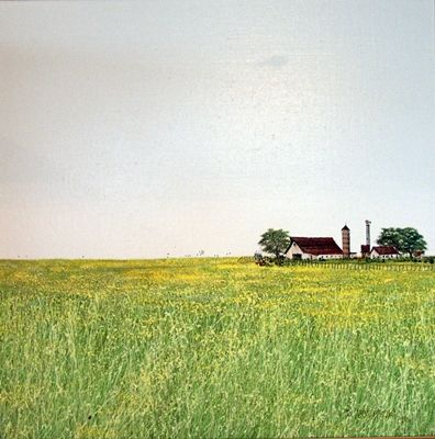 """Mustard Fields"" by Duane Armstrong"