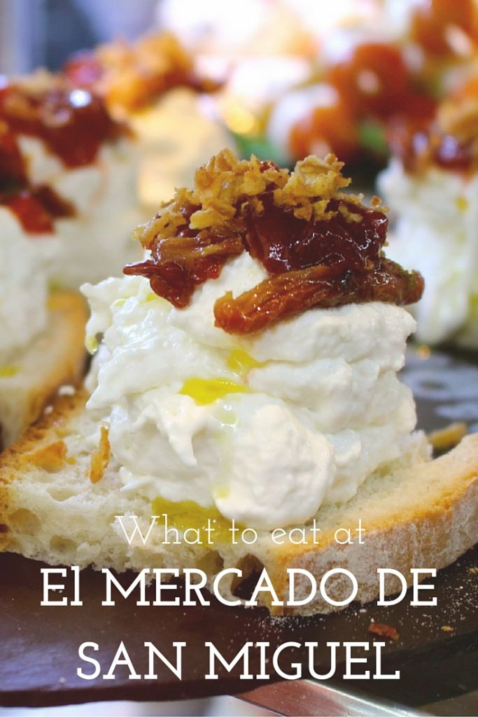 Looking for the best eats at El Mercado de San Miguel in Madrid? Here is the perfect list for you!