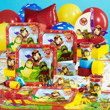 Wonder Pets Party Pack Kaylee had this for her birthday! She loves the wonder pets!