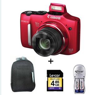 Get 13% OFF ON Canon Powershot SX160 IS Digital Camera.