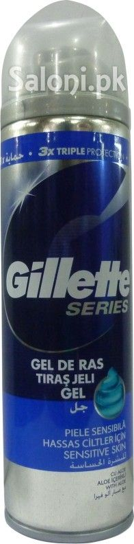 GILLETTE SERIES SENSITIVE SKIN GEL 200 ML (UK) Saloni™ Health