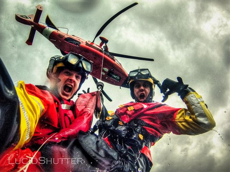 the serious business of rescue swimming show here is jason mathers during his us coast guardcoast