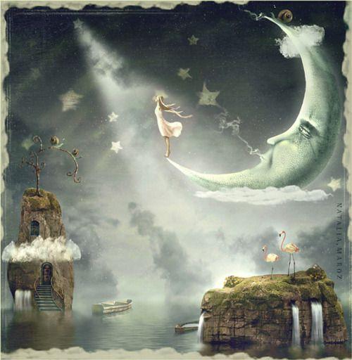 Natalia Moroz: Moondreams #ilustracion #fantasia #hadas #ilustracion