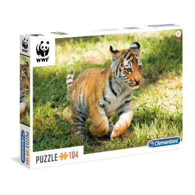 Puzzle Tigre cachorro bebé ( Ref:  0000027998 )