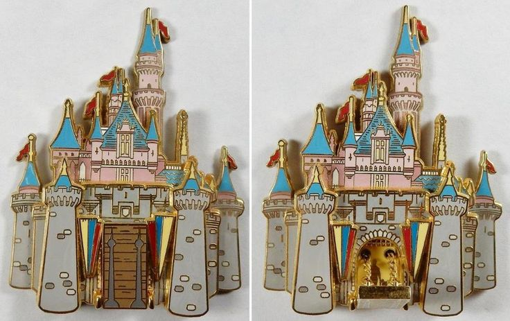 Disney Pin 25759 WDW Cast Member - Sleeping Beauty Castle Series DLR HTF