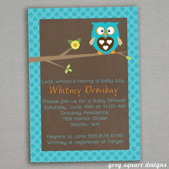 Baby Shower Invitations Wording For Boys: 216 Best Images About Owl Baby Shower Ideas On Pinterest