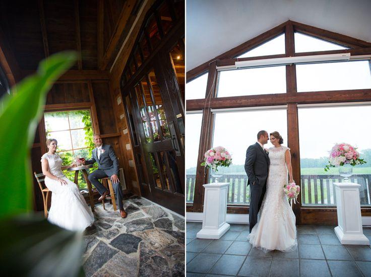 Vineland Estates bride and groom