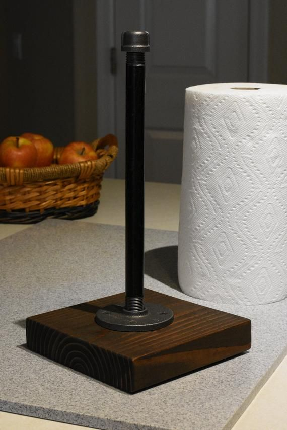 Industrial Paper Towel Holder Stand Up Paper Towel Roll For Etsy