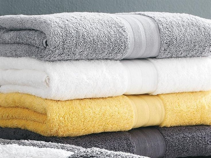 Bathroom colour ideas towels yellow white grey for the home pinterest grey towels and for Black yellow and gray bathroom