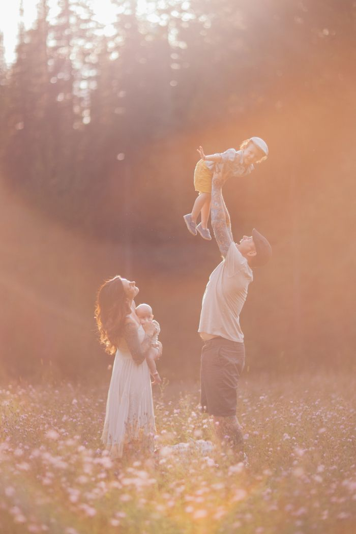 dreamy family photos
