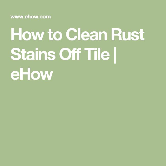 Best 25 Clean Rust Ideas On Pinterest Stains Diy Carpet Cleaner And Cleaning Vinegar