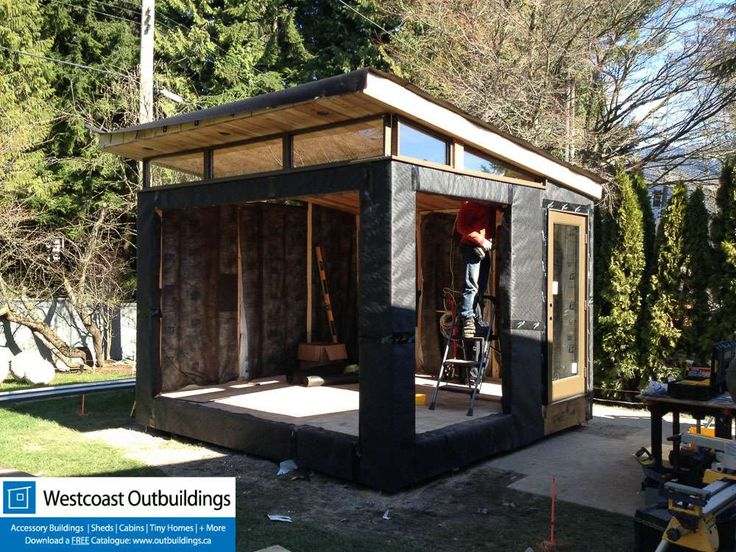 West Vancouver Workout Shed | Slanting Roof | Pinterest | Workout Rooms,  Prefab And Tiny Houses