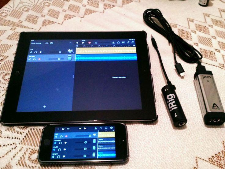 iRig, Apogee Jam 96k, iPad 2, iPhone SE