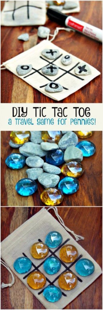 39 Easiest Dollar Store Crafts Ever - DIY Tic Tac Toe Game Board - Quick And Cheap Crafts To Make, Dollar Store Craft Ideas To Make And Sell, Cute Dollar Store Do It Yourself Projects, Cheap Craft Ideas, Dollar Sore Decor, Creative Dollar Store Crafts http://diyjoy.com/easy-dollar-store-crafts More on good ideas and DIY
