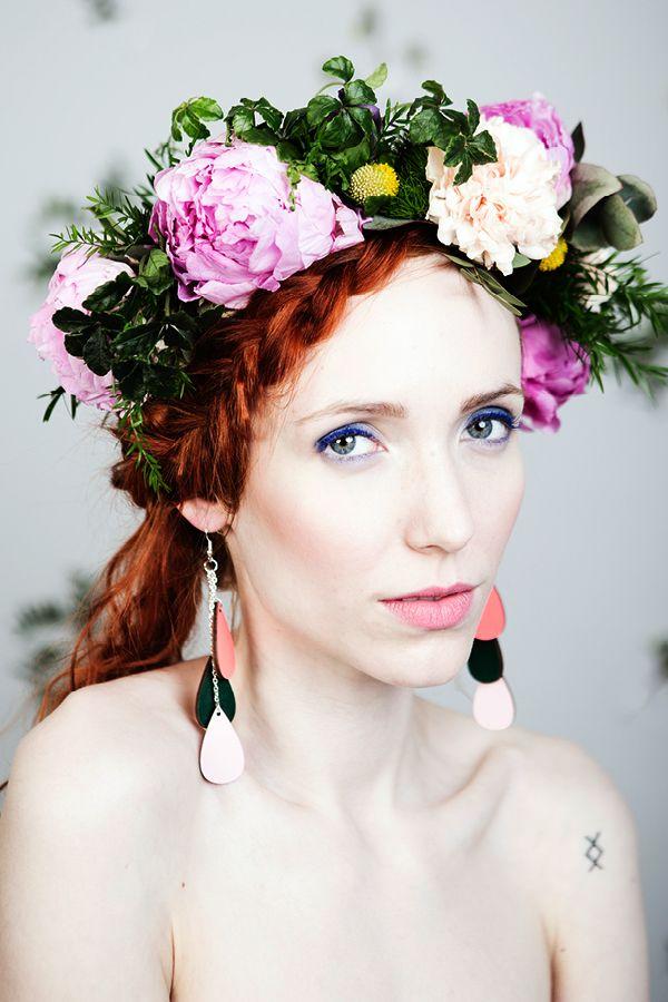 Uhana Design Pisara-korvikset (drop earrings). SS16 collection #pisarakorvikset #dropearrings