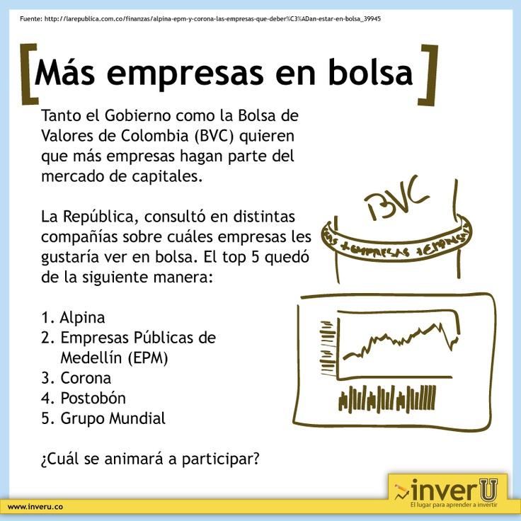 Tanto el Gobierno como la Bolsa de Valores de Colombia (BVC) quieren que más empresas hagan parte del mercado de capitales.