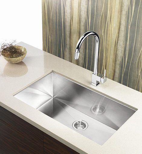 Undermount Kitchen Sinks Stainless Steel   Zlewozmywak podwieszany