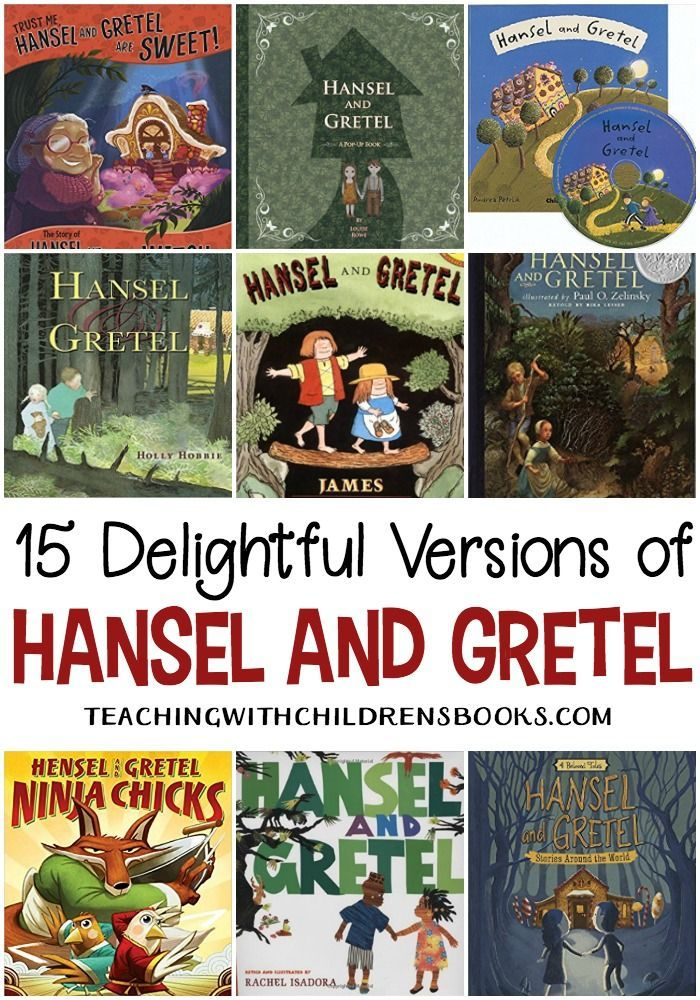 15 Picture Book Versions Of Hansel And Gretel Story Fairy Tales