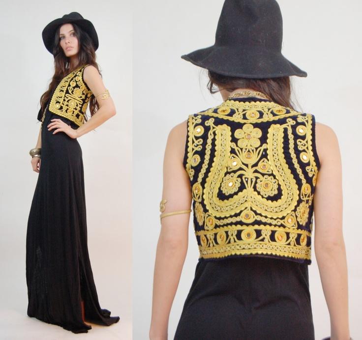 Jacket over maxi dress   vestido's   Pinterest