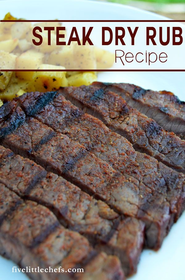 This steak dry rub bbq recipe is perfect for the summer. Grilling steak is one of our favorite dinner recipes. Add a dry rub to transform your steak.