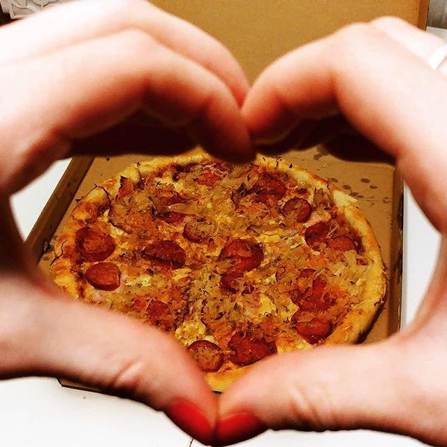 I  Pizza  #vosime #vosimecz #pizzas #pizza #pizzadelivery #pizzalove #pizzalover #goodfood #love #pizzatime #novyjicin #orlova #frydekmistek