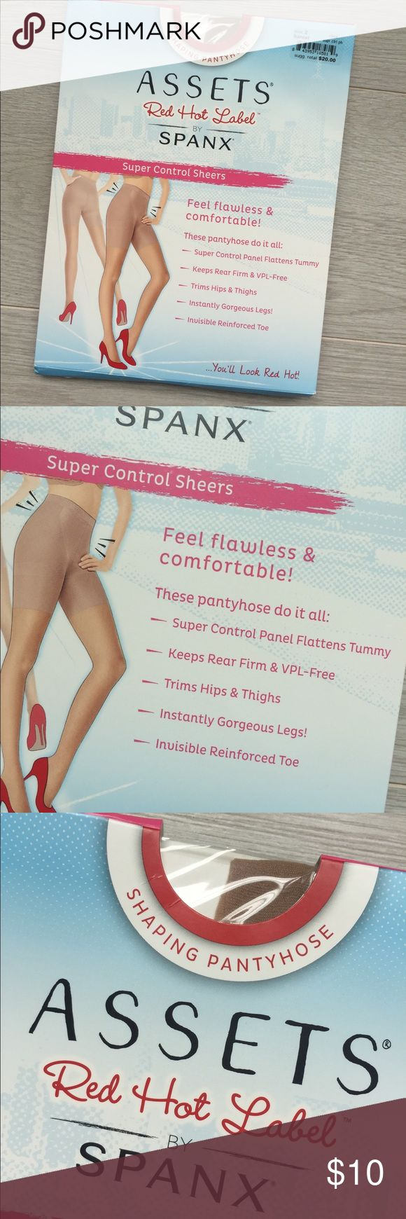 Assets by Spanx Nude hose/tights New in box. Size 2. See photo of sizing! SPANX Accessories Hosiery & Socks