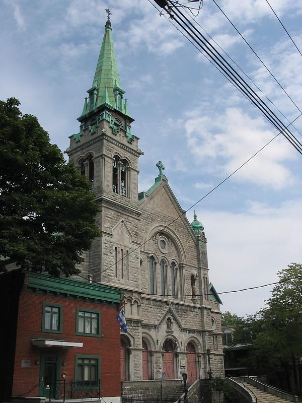 Montréal (église Saint-Eusèbe-de-Verceil), Québec, Canada (45.532009, -73.557125)