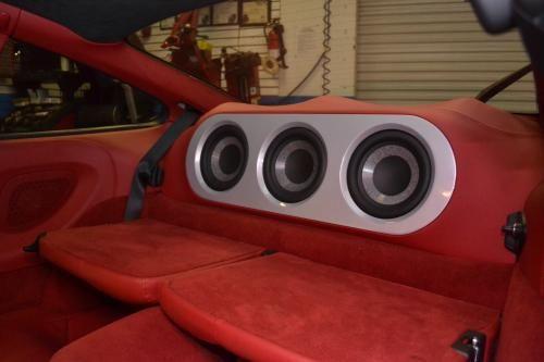 2012 Porsche 911 turbo Car Audio Install