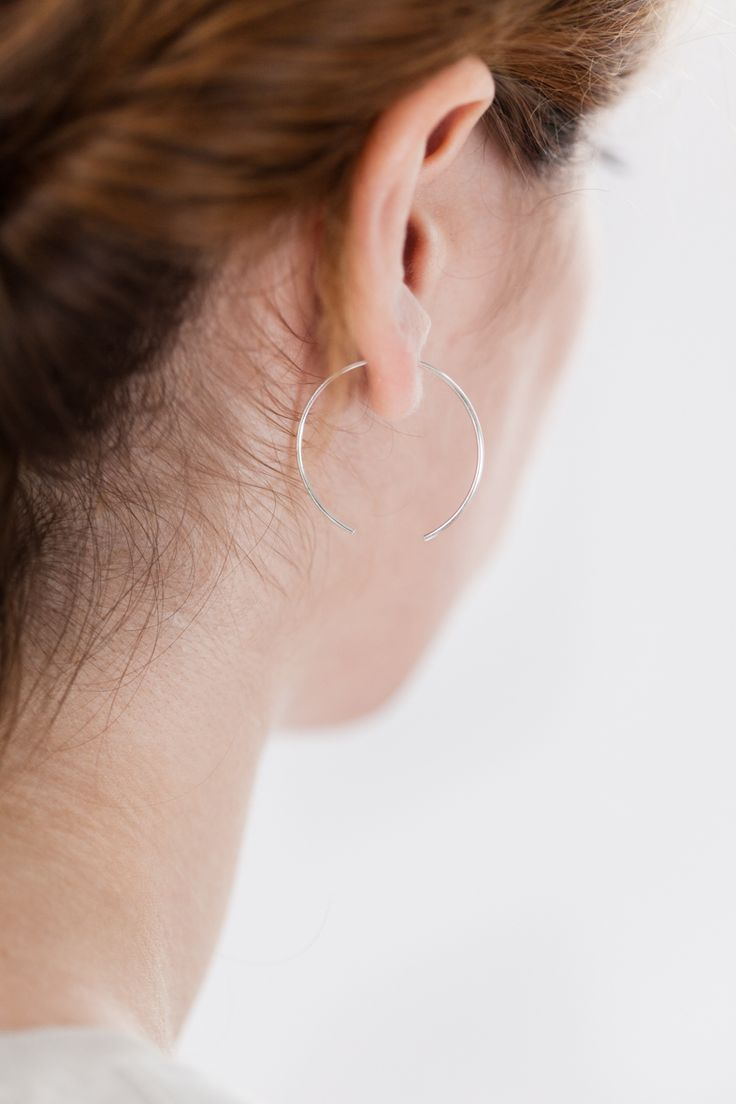 earring - ada - Anna Lawska Jewellery / collection - back to basic - / Photo - PION