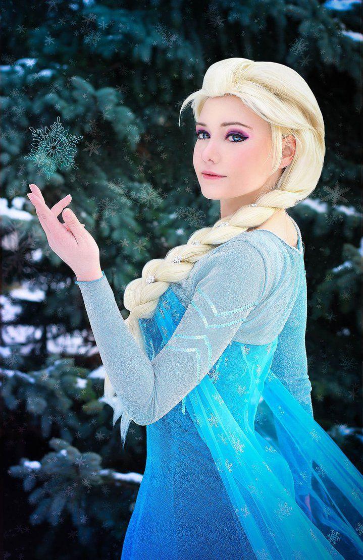 Elsa By Zaira555 On Deviantart  Frozen Cosplay, Disney -7594