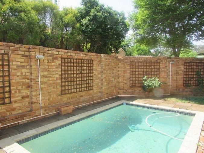 Pool in front garden