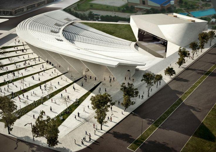 Tercer Lugar Concurso Ampliación Anfiteatro Cocomarola / Agustín Vital + Tomás Lier