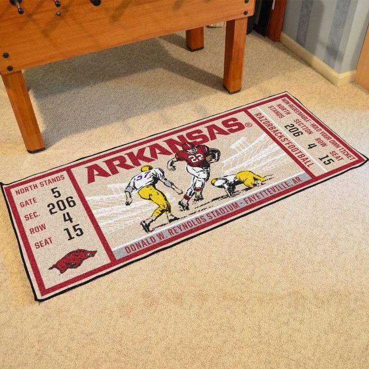 University of Arkansas Ticket Runner