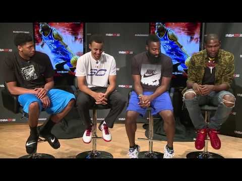 NBA2K Uncensored Kevin Durant Talks About Meeting Stephen Curry  *Love me some KD!!*