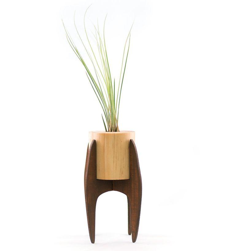 Amazon.com : Scoutmob Home Mini Midcentury Plant Stand : Patio, Lawn & Garden