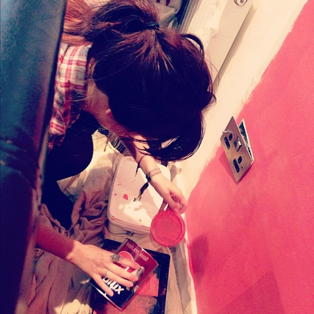 #me #painting #wall #paint #decorating #bedroom #colour #coral #bright #me #painting #wall #paint #decorating #bedroom #colour #coral #bright