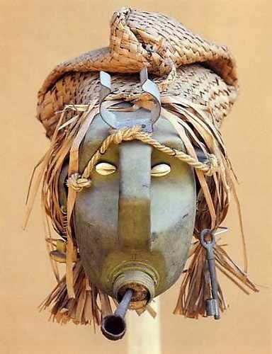 romuald hazoume masks - Google Search