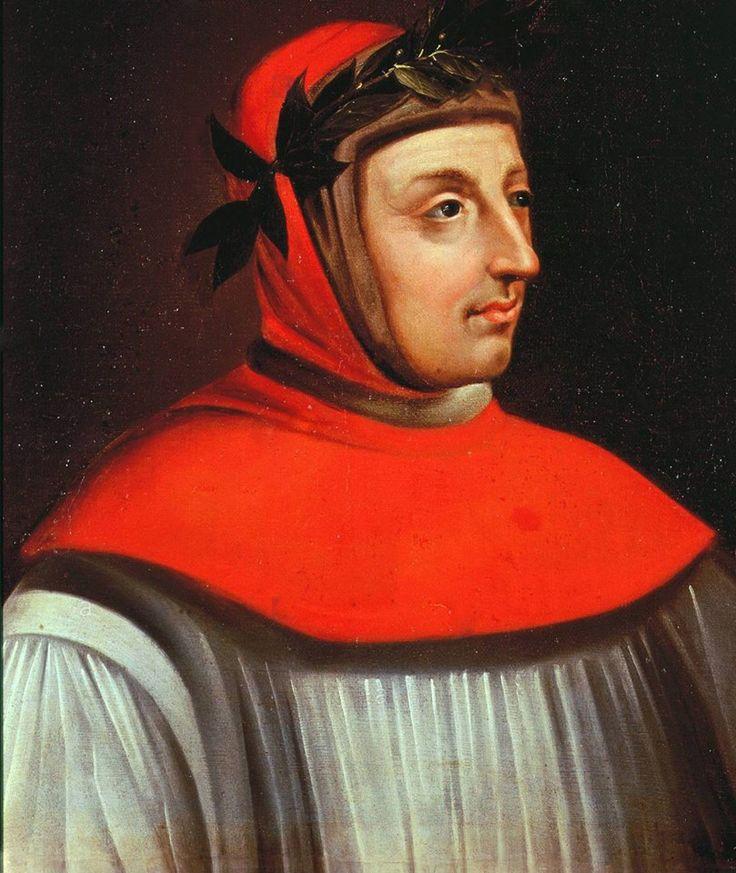 Francisco Petrarca, 1304-1374 - poeta renascentista italiano e estudioso, do século 17   A partir de 1339, Vaucluse foi a residência preferida de Petrarca.  Este é o lugar onde o amor eterno de Laure vinha regularmente ouvir a voz rouca das águas.  O poeta explica que foi sua residência favorita: A fonte ilustre do Sorgue, famosa por ela mesma há muito tempo tornou-se ainda mais famosa por minha longa estadia e com o meu canto. - Petrarca, Senil, X, 2.  Na parte de trás da casa, um arco…