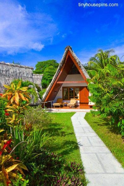Nipa House Design: 36 Best Nipa Hut Images On Pinterest