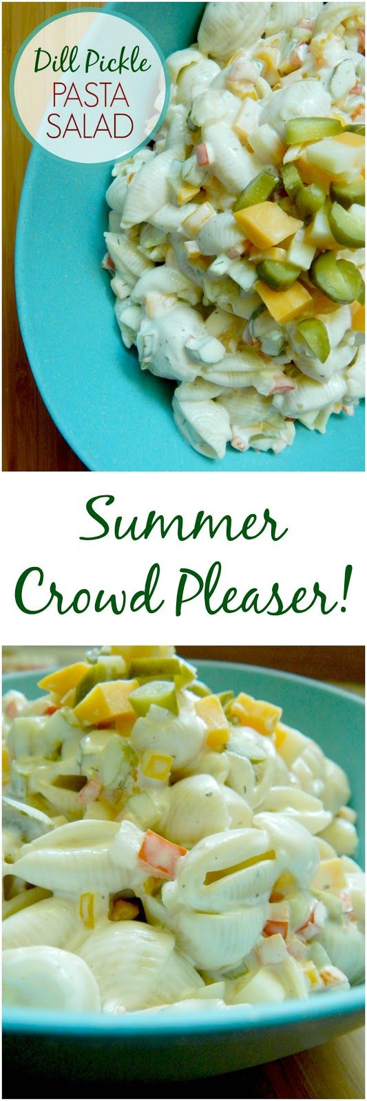 dill pickle pasta salad (sweetandsavoryfood.com)
